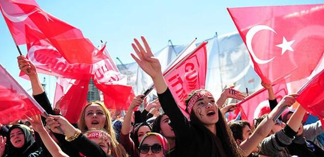 Cumhur İttifakı Ankara mitingine büyük ilgi!