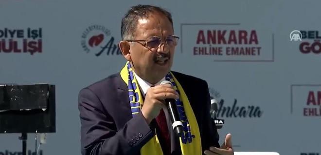Özhaseki: Zannediyorlar ki Ankaralılar anlamaz!