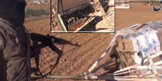 IŞİD o görüntüleri yayınladı