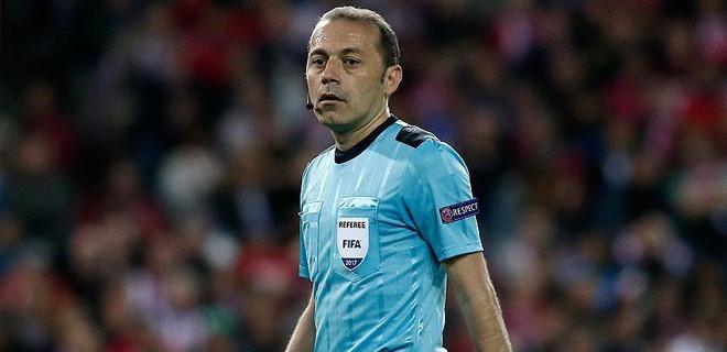 Cüneyt Çakır, Manchester City-Tottenham maçını yönetecek