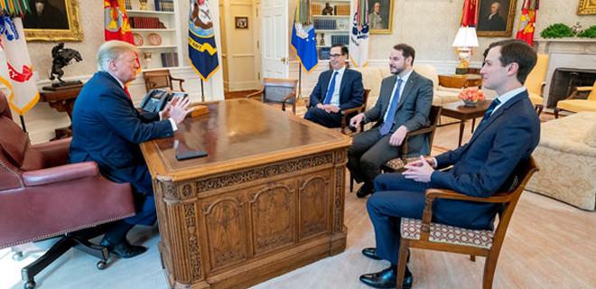 Hazine Bakanı Albayrak Beyaz Saray'da Trump ile görüştü
