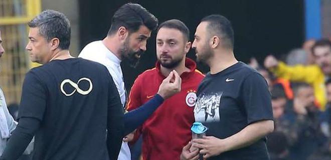 Volkan Demirel: Hasan Şaş'a küfretmedim