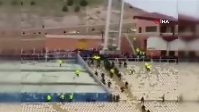 İran'da maç sonrası kavga çıktı!
