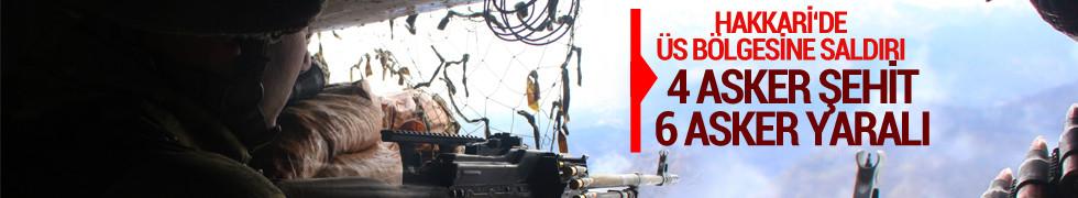 Acı haber Hakkari'deki çatışmada, şehit sayısı 4'e çıktı, 6 asker yaralı