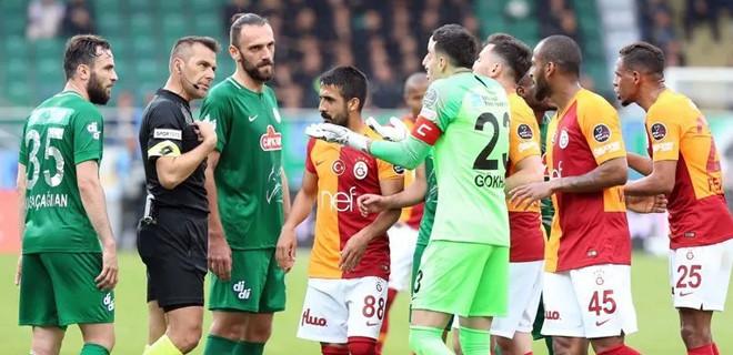 Çaykur Rizespor-Galatasaray maç için karar!