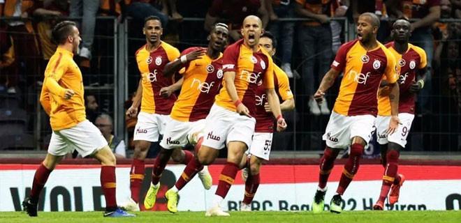 19.05'de bir kez daha şampiyon Galatasaray!