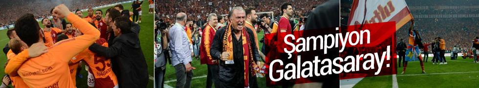 Galatasaray evinde Başakşehir'i yenerek şampiyonluğunu ilan etti!