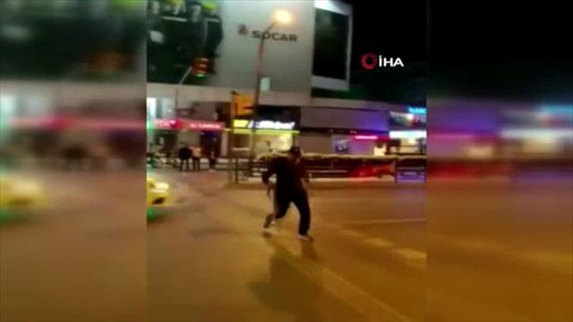 Galatasaray taraftarına şişeli kemerli saldırı!