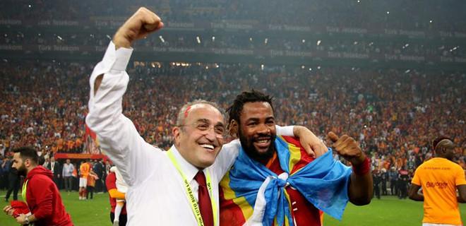 'Albayrak hariç her Galatasaraylı'yı kutluyorum'