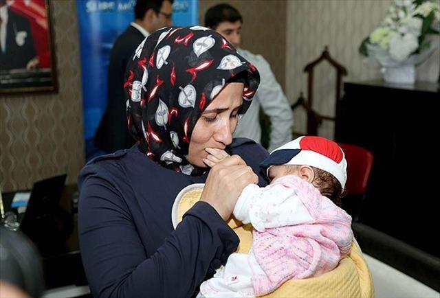 Sünnet vaadiyle kaçırılan bebek operasyonla kurtarıldı
