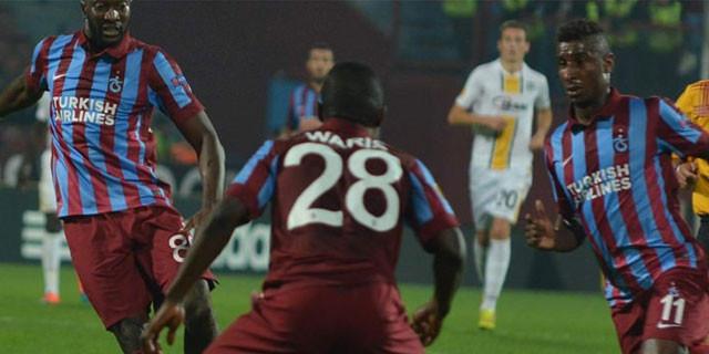 Trabzonspor Avrupa'da başka!