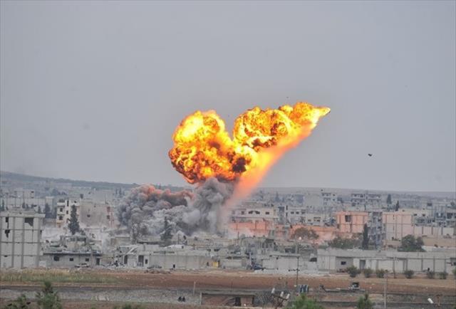 IŞİD hedeflerine 14 hava saldırısı