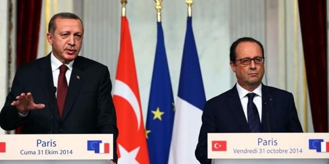 Erdoğan ve Hollande açıklama yapıyor