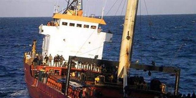 Türk gemisi Girit'te yakalandı!