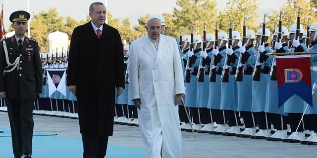 Papa Francis Ankara'da