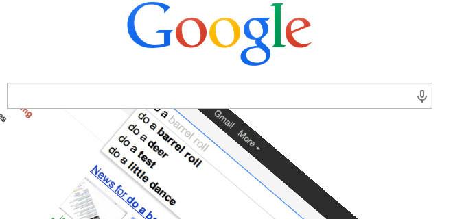 Bu cümleyi Google yazın bakın ne oluyor!
