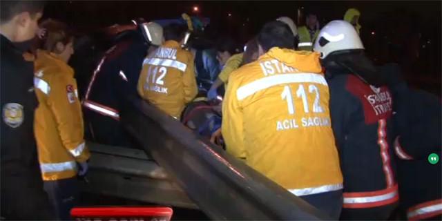 TEM'de kanlı gece: 1 ölü 5 yaralı