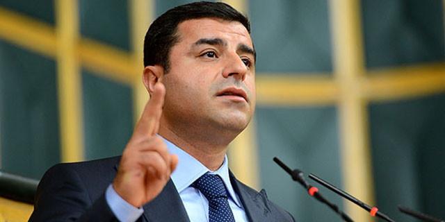 Demirtaş'tan bomba iddia: Seçim öncesi suikast!