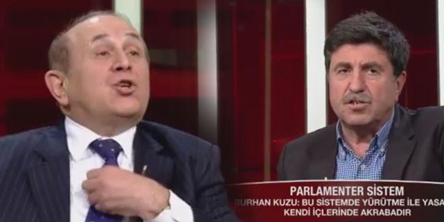 Burhan Kuzu, HDP'li Altan Tan'ı kızdırdı