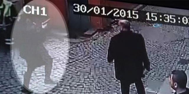 İşte Taksim saldırganı !