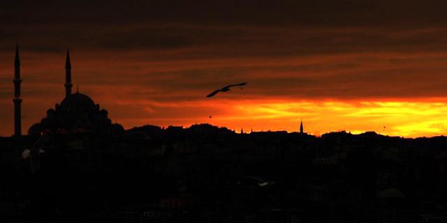 İstanbul'a hiç o vakitte baktınız mı?