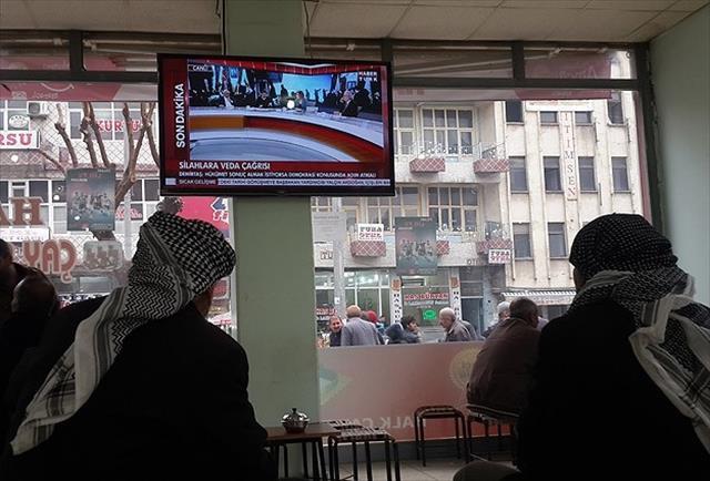 Güneydoğu'da vatandaşlar gelişmeleri heyecanla takip etti