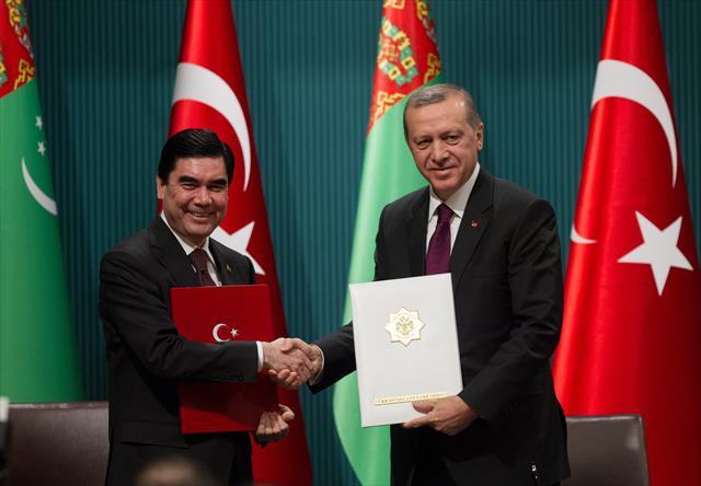 Türkmenistan özel bir konuma sahip