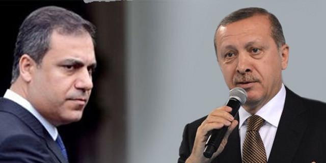 Erdoğan ile Fidan arasında sır görüşme