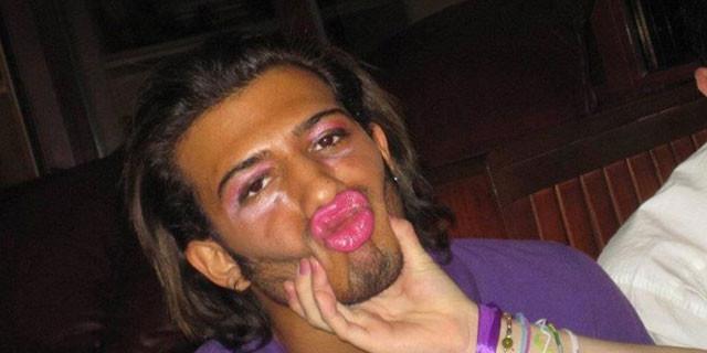 İranlı erkeklerden şok fotoğraflar!