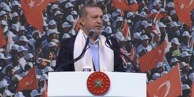 Erdoğan : Nereye kaçarsanız kaçın sizi bulacağız