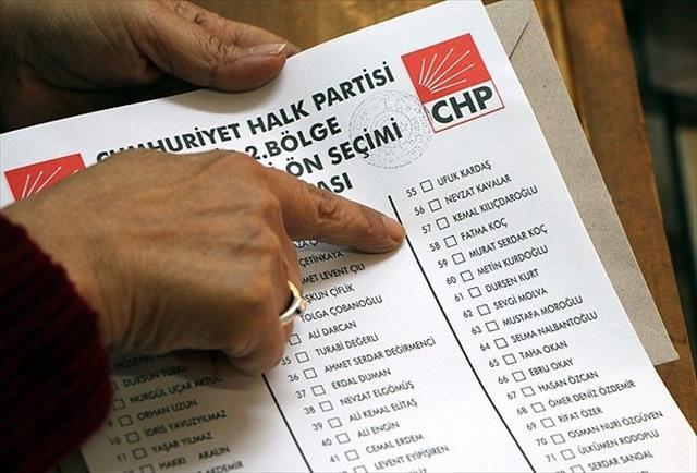 CHP ön seçiminde ilginç sonuçlar