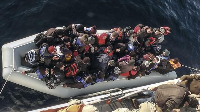 123 kaçak göçmen kurtarıldı