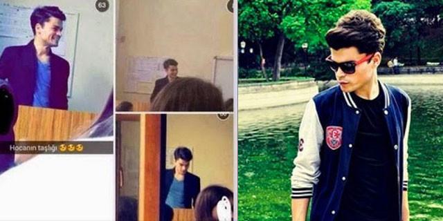 Öğrencisi fotoğrafını çekip instagrama koyunca...