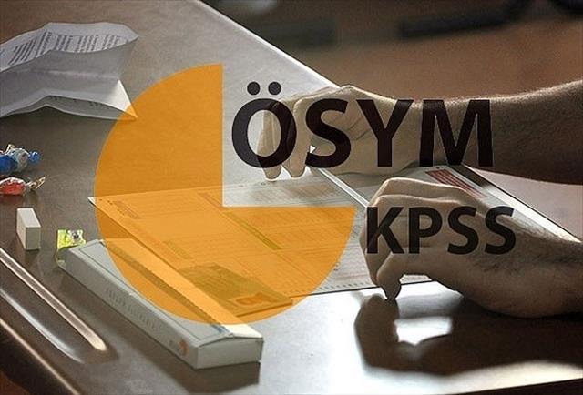 KPSS'de usulsüzlük soruşturması