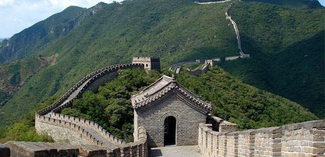 Великая китайская стена, Китай - 50 точек на карте мира, где необходимо побывать за всю свою жизнь.