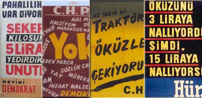 İşte siyasi partilerin güldüren afişleri