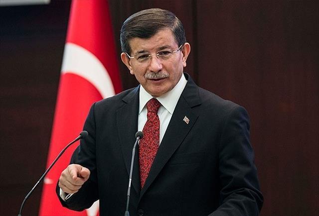 Davutoğlu HDP'ye yapılan saldırıyı kınadı
