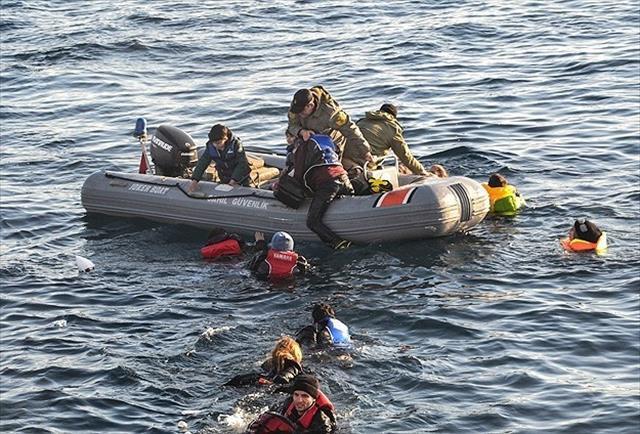 Kurtarılan göçmen sayısı katlanarak artıyor