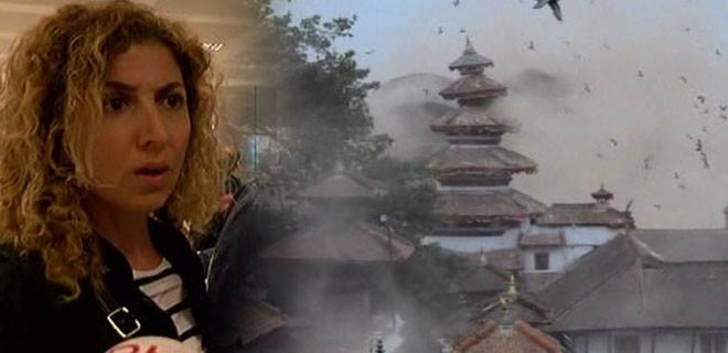 Nepal'deki dehşet anlarını anlattılar!.