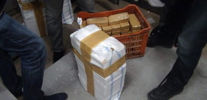 Kiralık rezidansın banyosunda 358 kilo eroin ele geçirildi