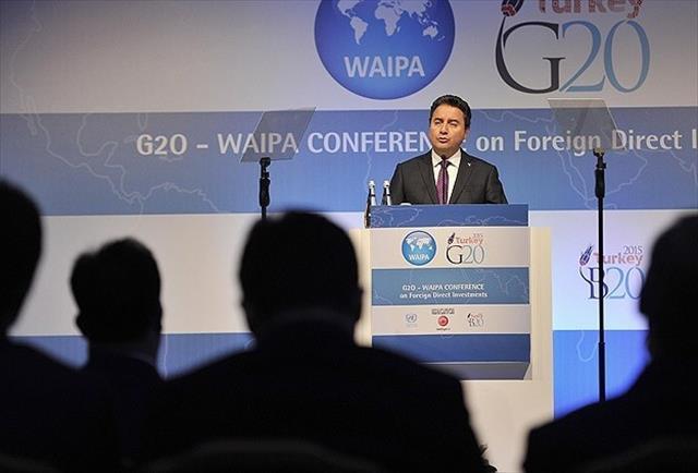 'G20'nin siyasi konulara da girmesini istiyoruz'
