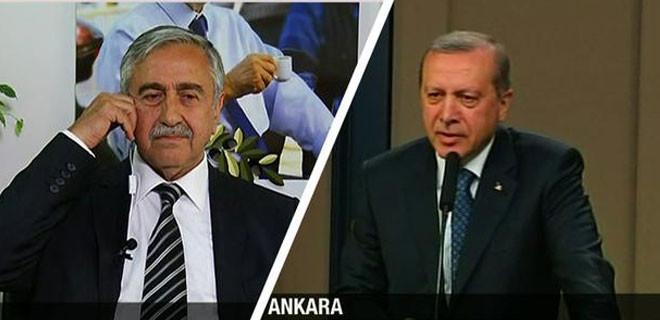 Akıncı'dan Erdoğan'a jet yanıt