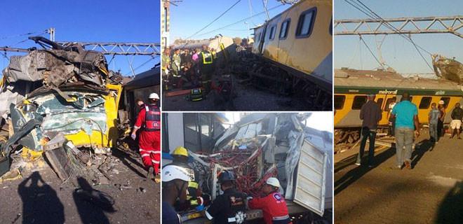 Güney Afrika'da tren kazası: 1 ölü, 240 yaralı