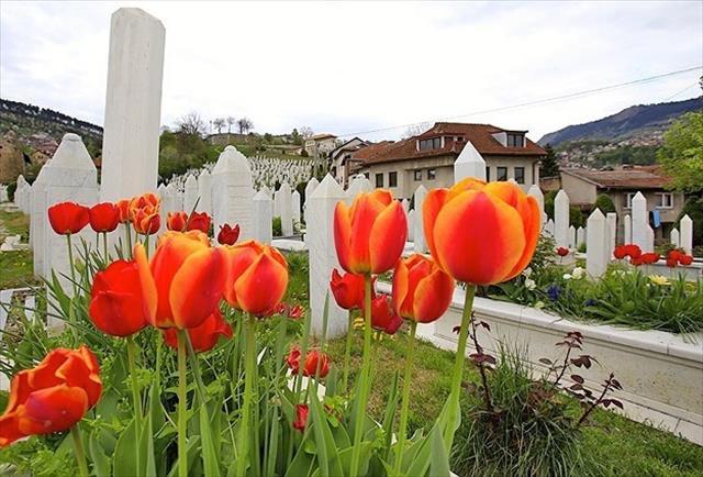 Bosna Hersek baharda bir başka güzel