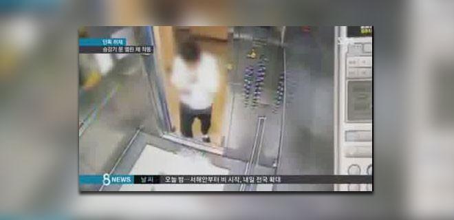Asansörde dehşet!