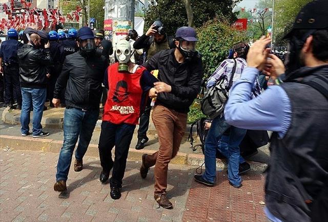 İstanbul'da 1 Mayıs olayları ile ilgili 24 kişi tutuklandı