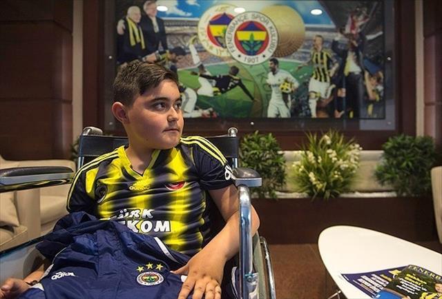 Ahmet Emin'in hayali gerçek oldu