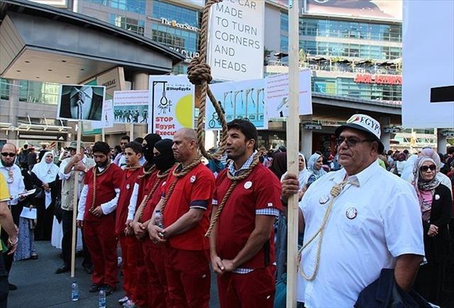 İdamlara karşı sessiz protesto