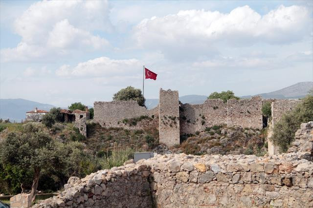 Beçin Kalesi'nde UNESCO kalıcı listesi hazırlığı