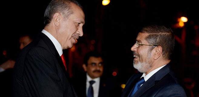 'Mursi'ye sahip çıkan Erdoğan'a teşekkür ediyoruz'